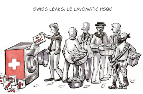 Article : Swiss Leaks : le lavomatic HSBC